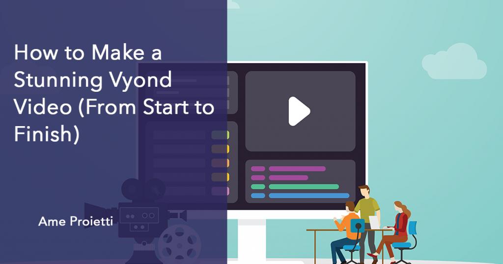 Make Vyond Studio video