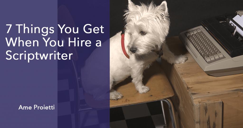Hire a scriptwriter