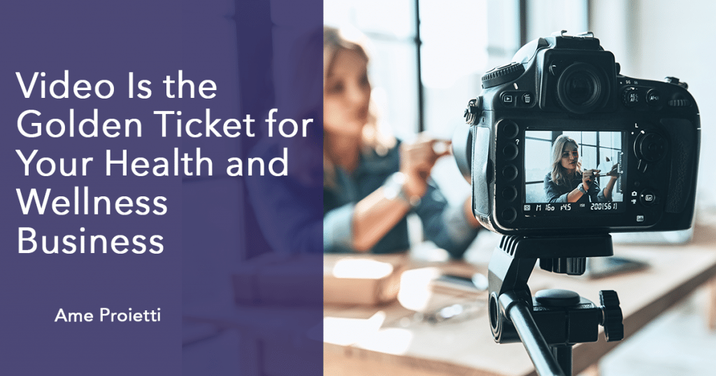 Video marketing in health and wellness