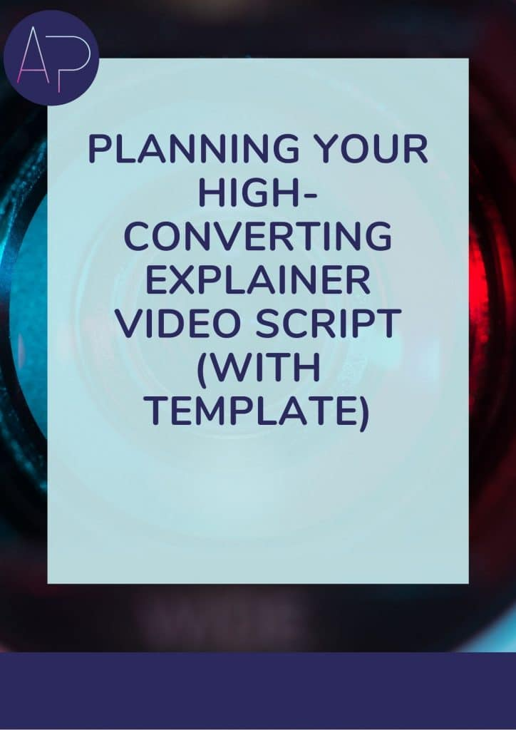 How to write a video script guide free template